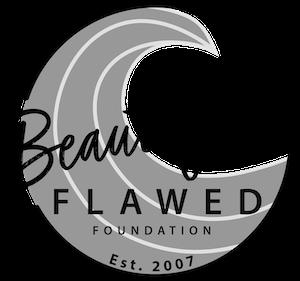 Beautifully Flawed Logo-Greyscale